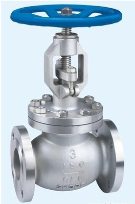 DN100 PN 16 KGF/CM2 Flanged Globe Valve Cast Steel For Water