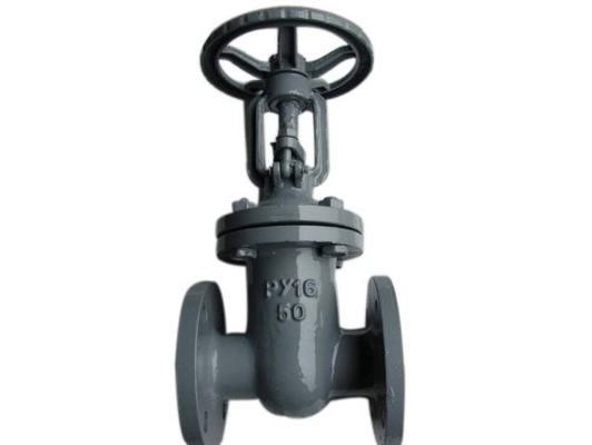 Steel wedge gate valves with a sliding  spindle DN 400mm - 600 mm , PN 1 , 6MPa - 6 , 3 MPa