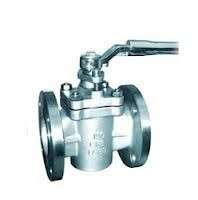 "Lubricated Plug Valve Cone valve 3 "" With SS316 And Coated  / PTFE For Fluid"
